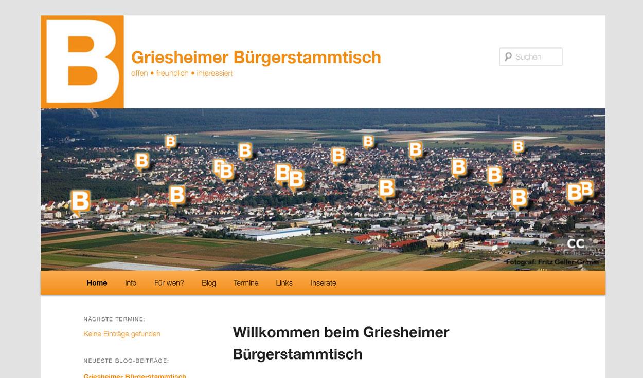 Bürgerstammtisch Griesheim
