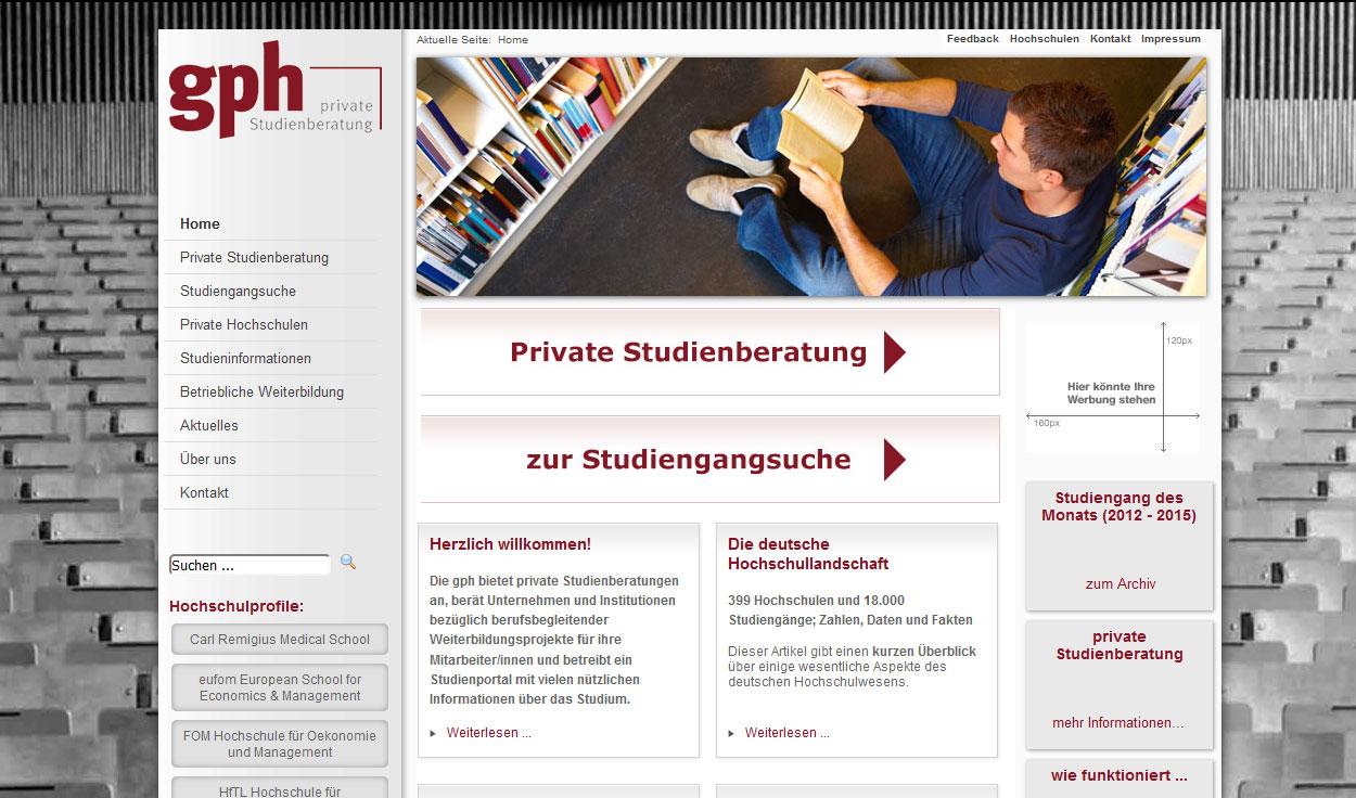 Private Hochschulbildung