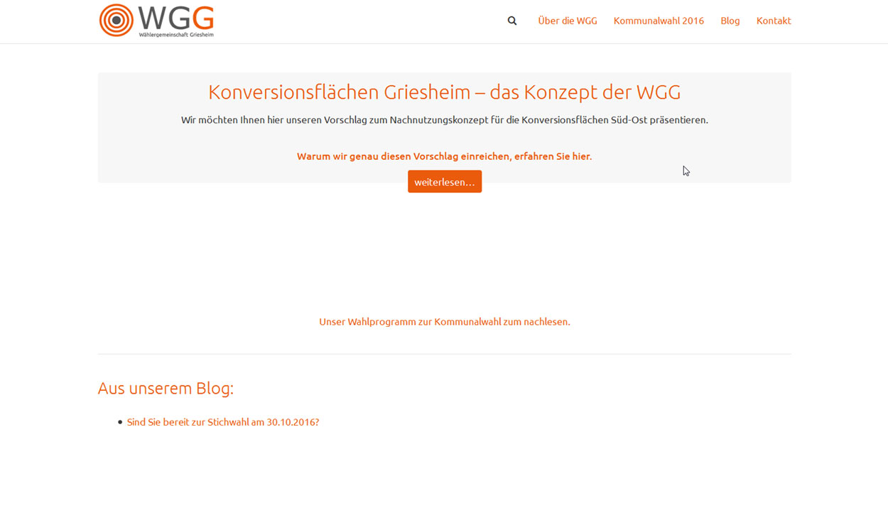 WGG - Wählergemeinschaft Griesheim